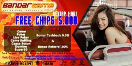 Agen Bandar Ceme Online Promo Free Chips Disetiap Harinya