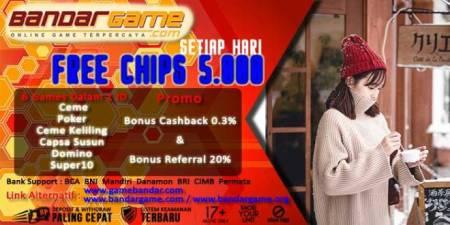 Free Chips Judi Online Terbesar di Indonesia